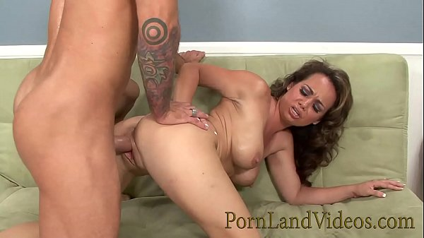 sexy brunette milf Holly West fucking with her ...