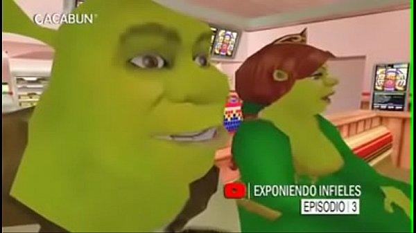 CJ exponiendo infieles: Shrek y Fiona