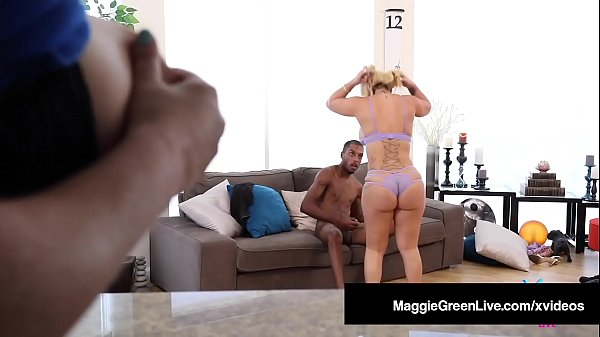 Big Butt Babes Maggie Green & Nina Kayy Suck & ...