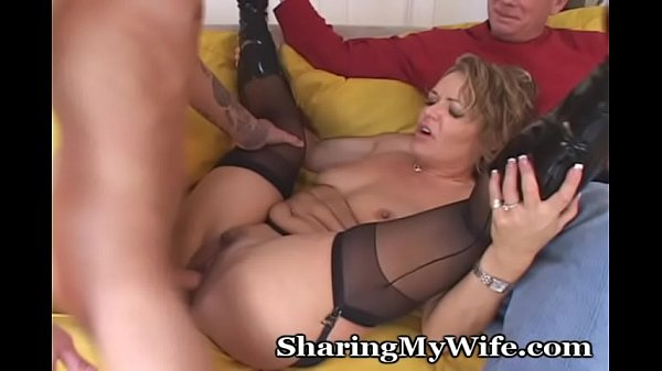 Older Woman Shared With Young Stud