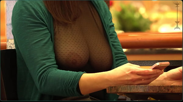 she must shows her nice boobs in public