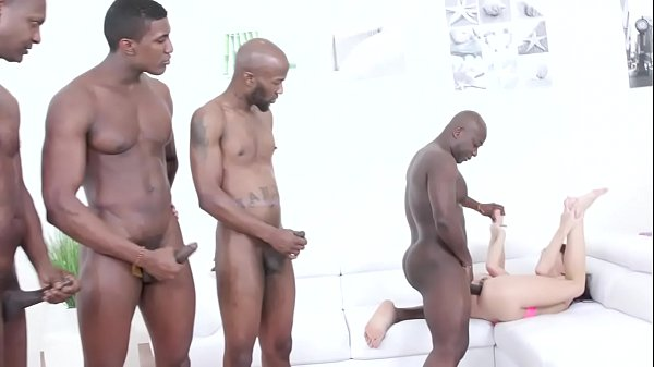 Kate Rich gets two black cocks in the ass IV414