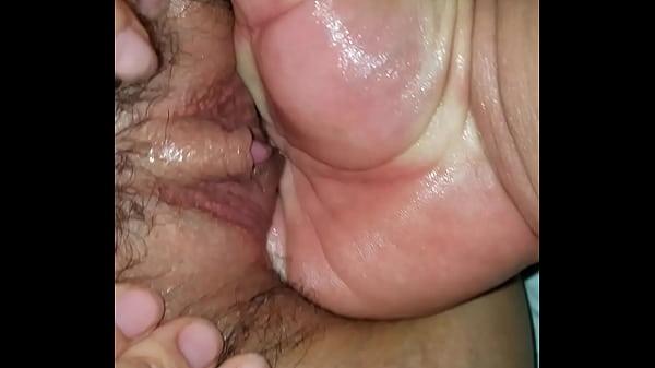 Masturbating inside my wife