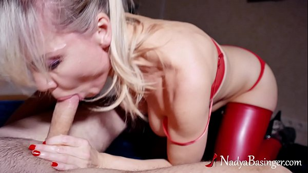 Blonde Mom Big Boobs Suck and Hard Pussy Fuck