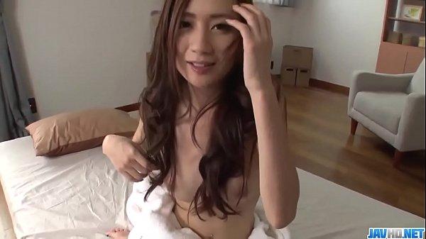 Full pussy stimulation solo show with Kaori Mae...