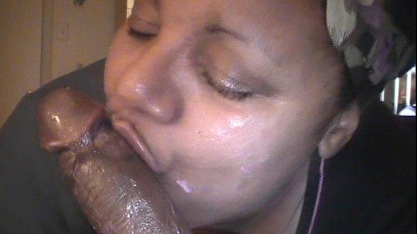 big slut sucking icing off my dick