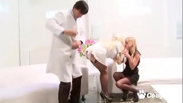 British MILFs Cindy Berh And Paige Ashley Fucking Cock In Therapy