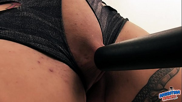 Hot Extreme Babe Vacuums Her Clitoris Pussy Tits and Asshole