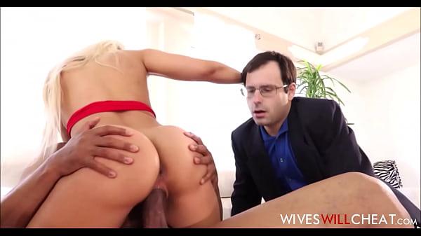 Hot Big Ass Latina Cheating Wife Luna Star Makes Nerdy Husband Watch Her Fuck Big Black Guy