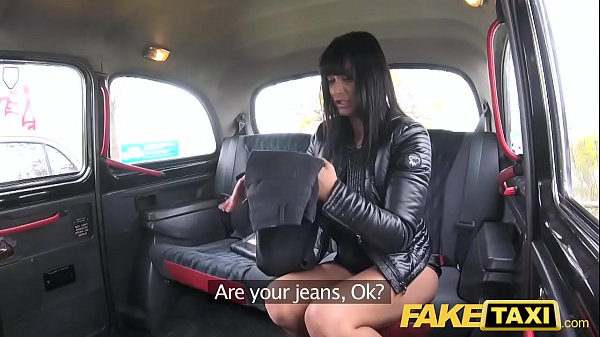 Fake Taxi Saucy hot brunette likes Czech cock Thumb