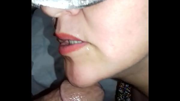 Señora caliente mamando