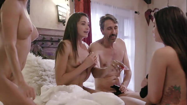 Couple Tricked Teens Into A Weird Foursome - Gia Paige, Avi Love and Silvia Saige Thumb