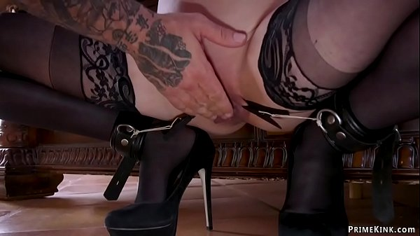 Cheating stepsister in bdsm threesome