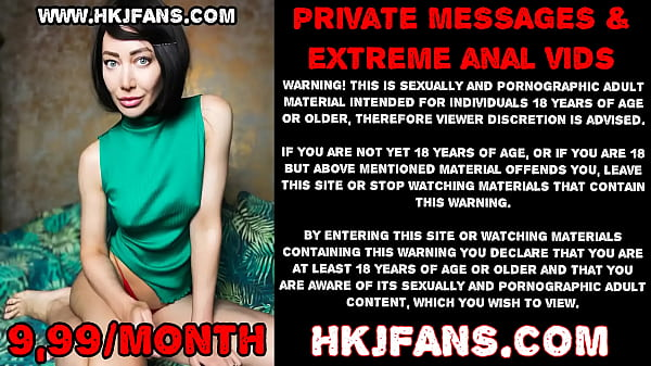 HKJFANS Hotkinkyjo ride on huge dildo and prolapse extreme 26.06.2021
