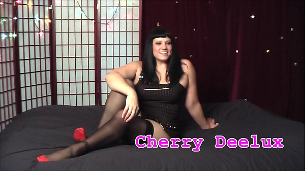Teaser for MILF Cherry Deelux rides old cock