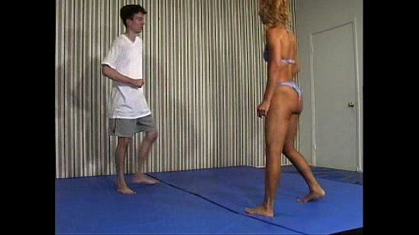Flamingo Mixed Wrestling -Suzanne Dubois Vs. Tim Ford part2