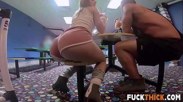 Daisy Stone In Robust Roller Rink Reaming