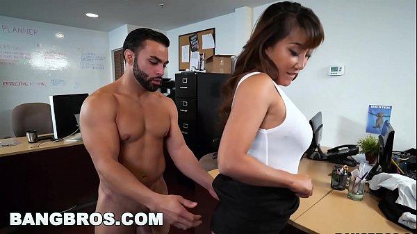 BANGBROS - Asian Tiffany Rain finally gets fucked in her office