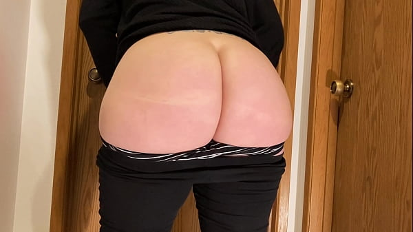 Fat Ass Wife Sheer Black Leggings 2