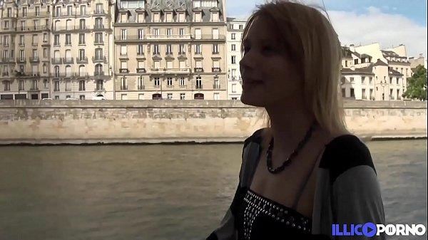 Anna, grosse salope, baise dans les rues de Paris
