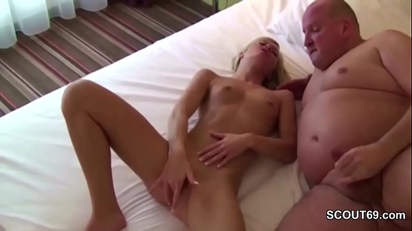 Young German Teen Seduce to Fuck by older Men in Hotel Thumb