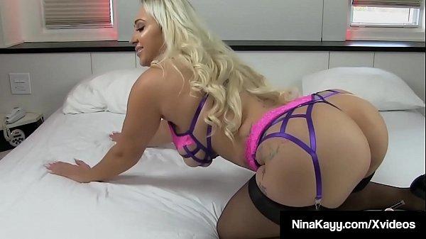 Naughty Nympho Nina Kayy Ass Gets Fucked By Big...