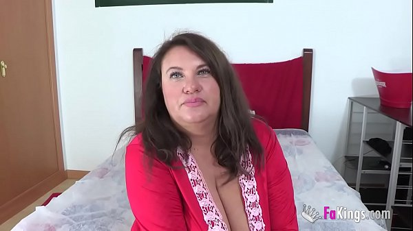 Agata is 45, has an ENORMOUS PAIR OF BOOBS and ...