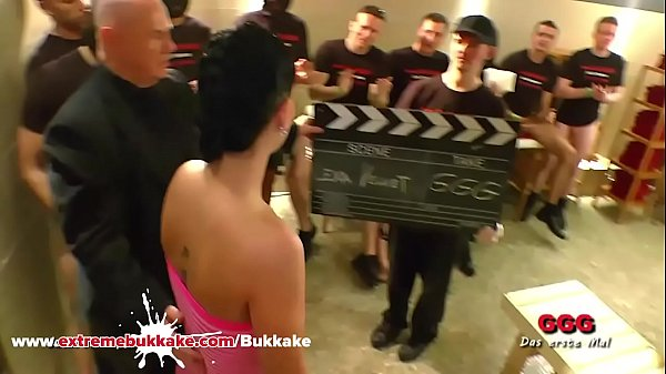 Behind the Scenes with Brunette Blowjob Babe Ea...