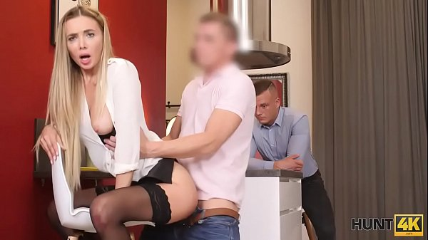 HUNT4K. Sexy blue-eyed girl is interested in sex with rich client Thumb
