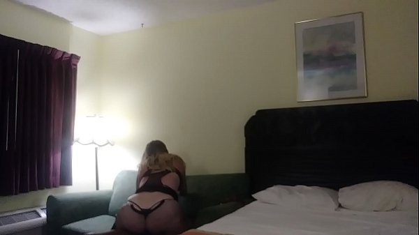 BBW Pawg Riding Black Dick On Hotel Couch (Full video on XRED