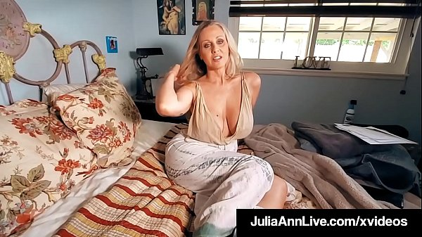 Beautiful World Famous Milf Julia Ann Gets Mega Dick Drilled