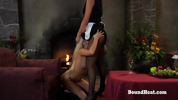 Disappeared On Arrival: Lesbian Teen Slaves Making A Show For Mistress