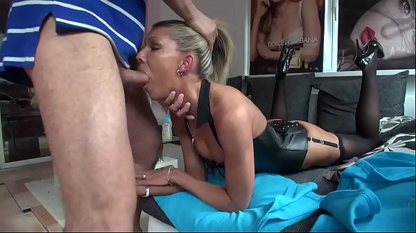 blonde milf deepthroat and creampie (Stop Jerking Off! Try It: D‍ailyFuc‍k.org) Thumb