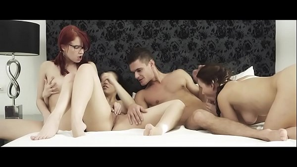 SEXART - Hot foursome with Eurobabes Thumb