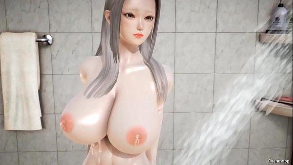 Image 3D hentai waitress quality service