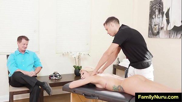 Wife Massage Front Husband