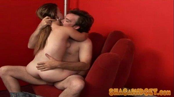 Horny Midget Babe Fucks New Guy
