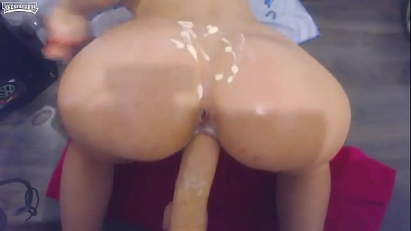 pawg with bubble butt n dildo