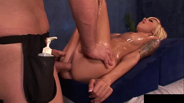 Emma Mae cheerleader gets massage and dick in her small pussy