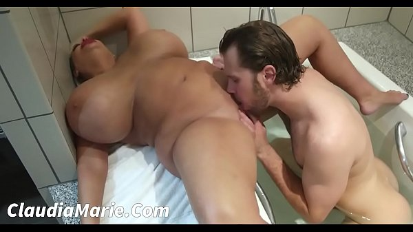 Huge Tits Claudia Marie Fucked In Shower
