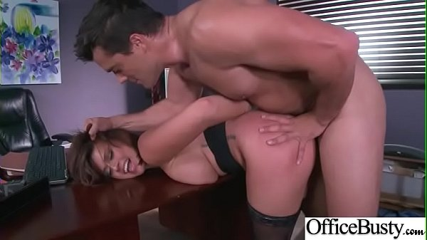 Horny Busty Girl (Eva Angelina) In Hard Style Banged In Office video-09
