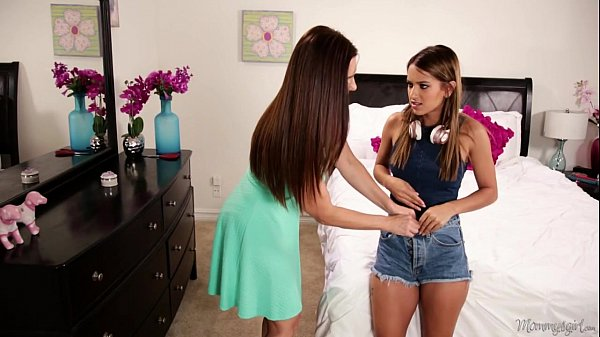 Mom sniffing the panties of a young girl! - Min...