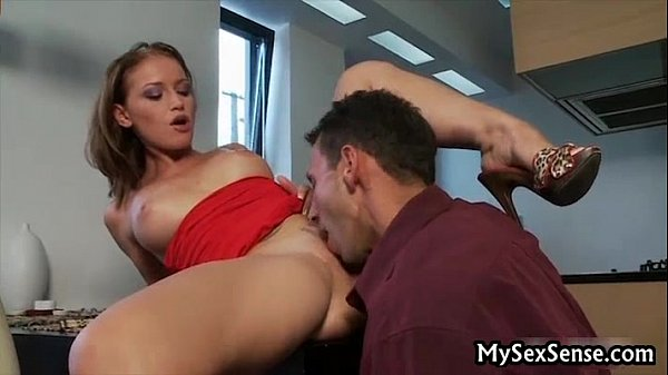 Redhead Caty Campbell ride cock