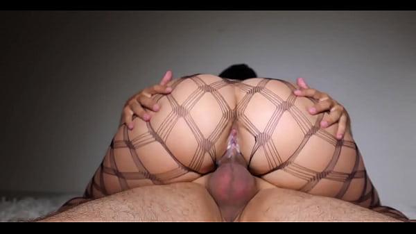 MILF Suck Cock and Big Ass Riding Closeup - Cri...