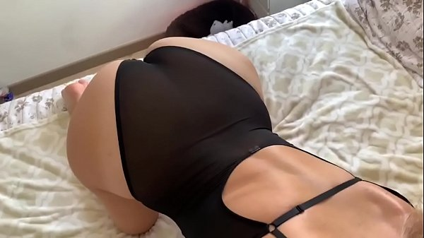 young step sister in lingerie sneaks into big brother's room to get fucked