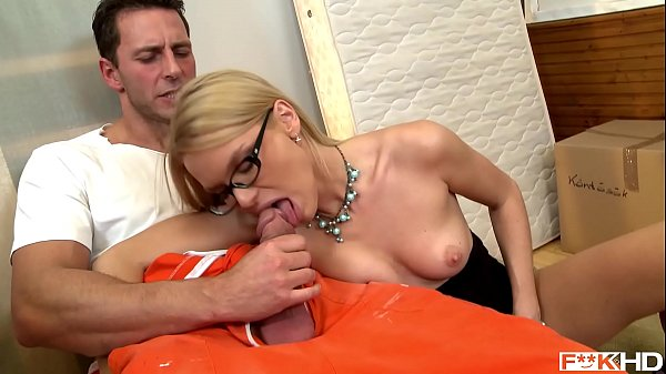 Sexy Blonde Secretary Summer Deep Throats While in 69 Until Both Cum Hard