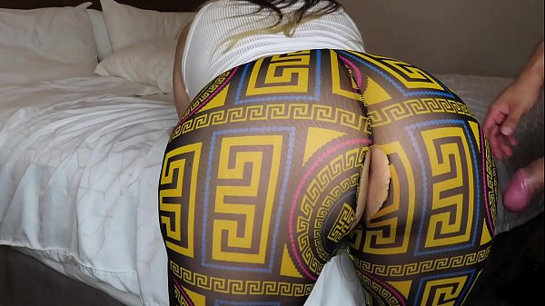 Latina with a big ass in see through leggings Thumb