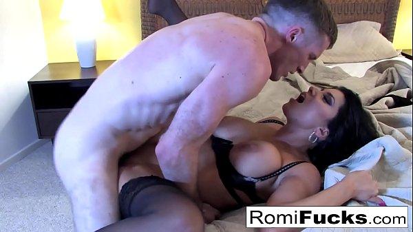 Nurse Romi Rain answers Brick's prayers with anal sex!