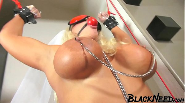 Blonde Whore Has Been Waiting Too Long For The Huge Black Cock Thumb