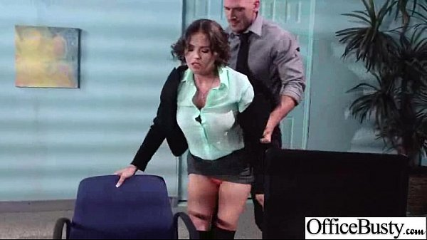 Sex Tape In Office With Slut Big Juggs Horny Girl (krissy lynn) video-17